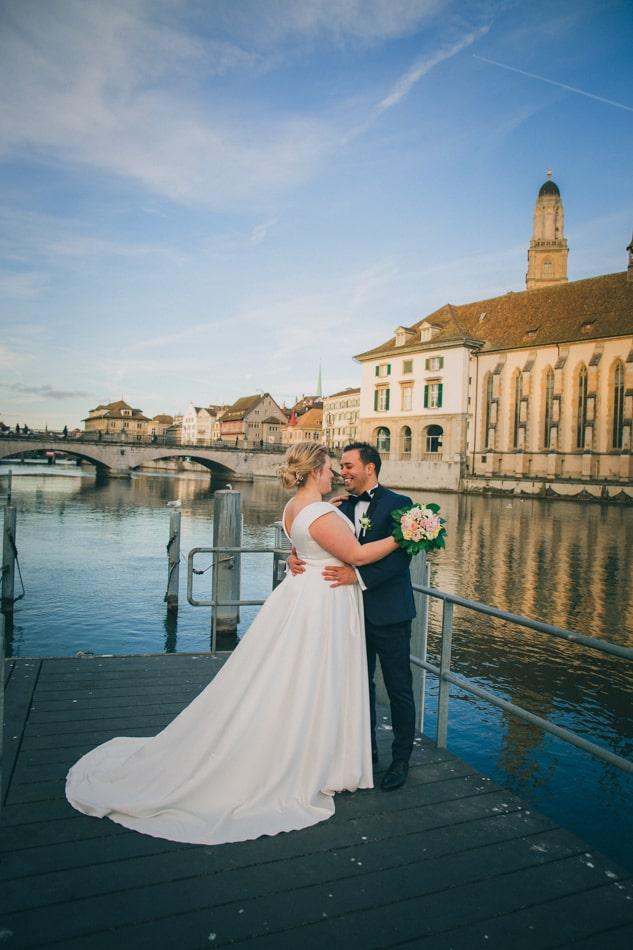 Hochzeit in Zürich feriern