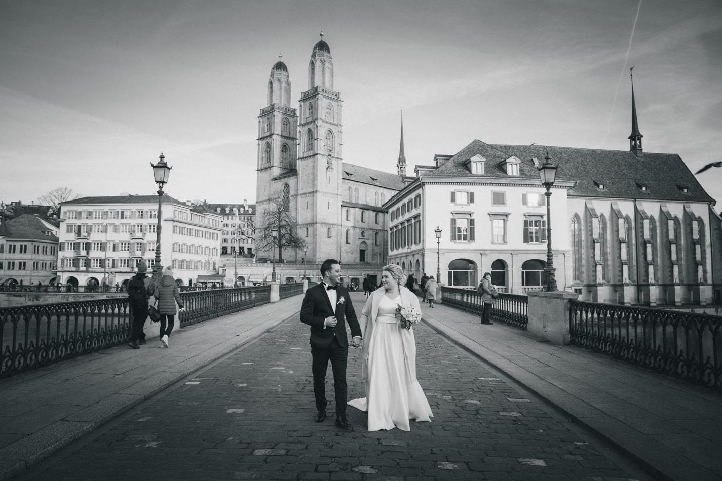 Hochzeitsfotoshooting Zürich