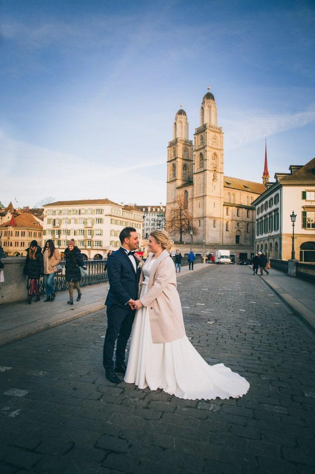 Ihre Hochzeit in Zürich feiern