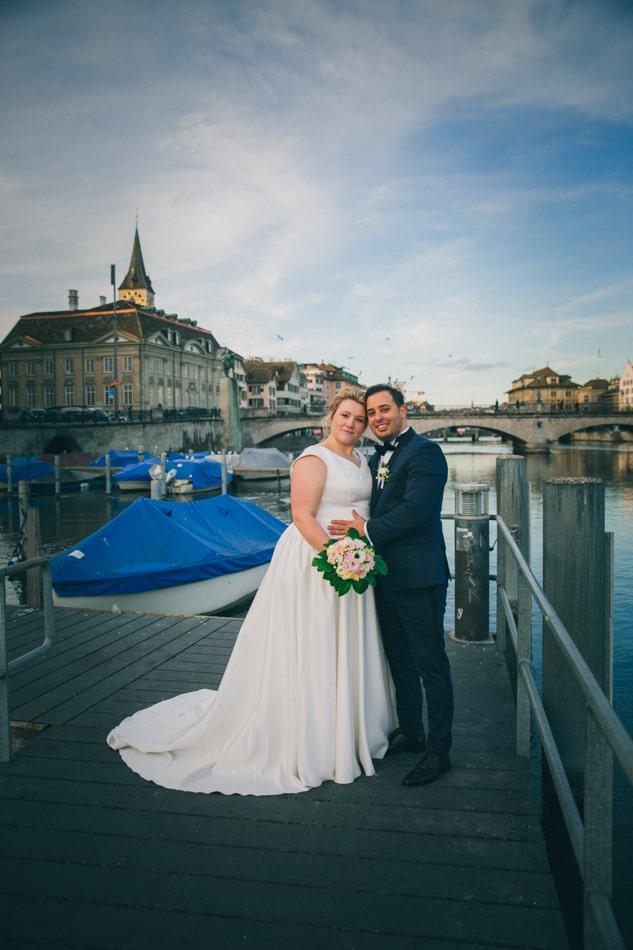 Professionelle Hochzeitsfotograf in Zürich
