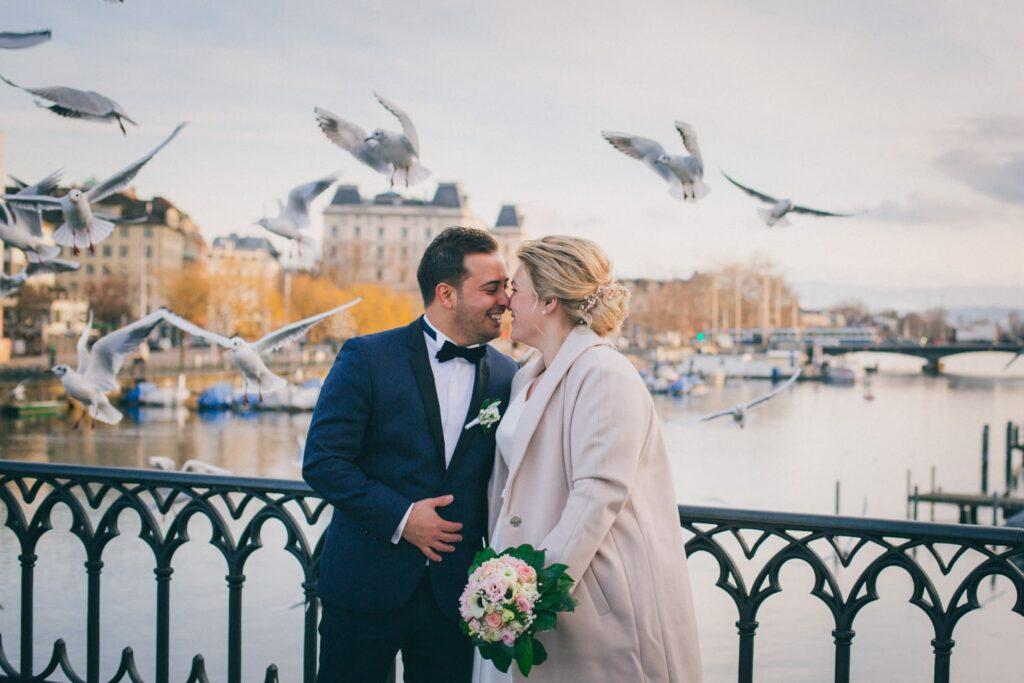 Verlobungs Fotoshooting in Zürich