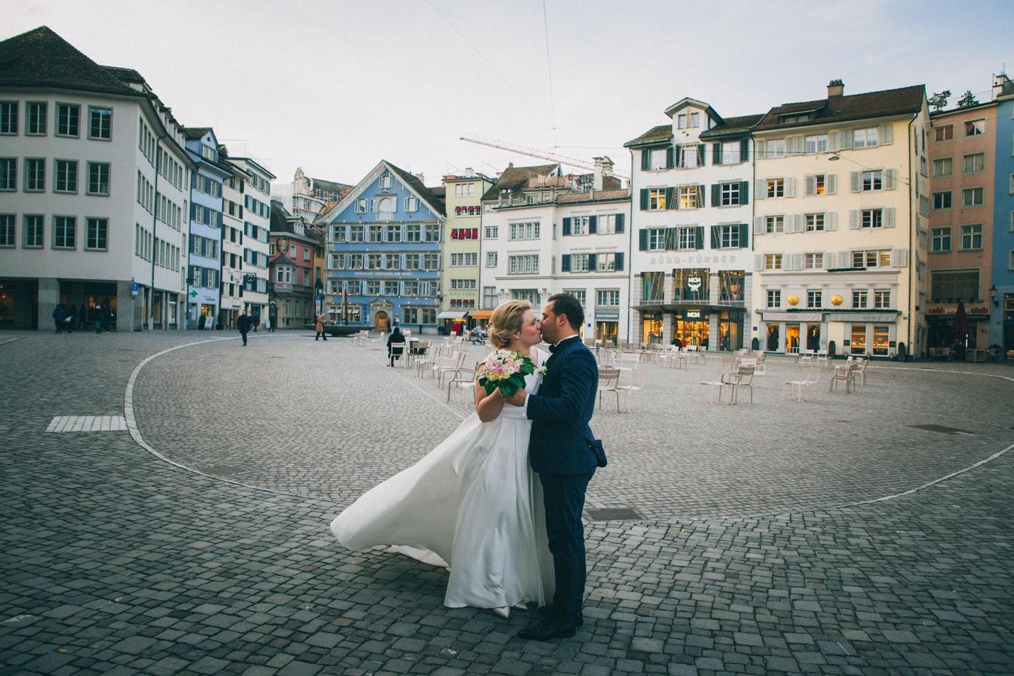 Wunderschöne Hochzeit in Zürich