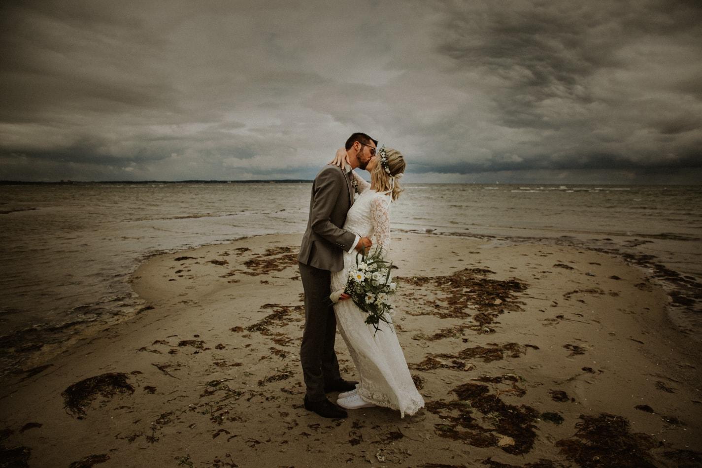 Hochzeit in Stein am Strand