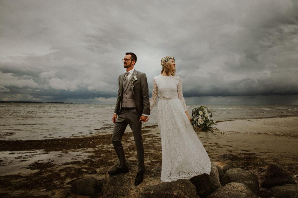Hochzeitsfotografie in Stein