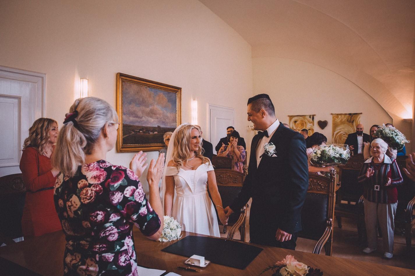Hochzeit im Rathaus Altona