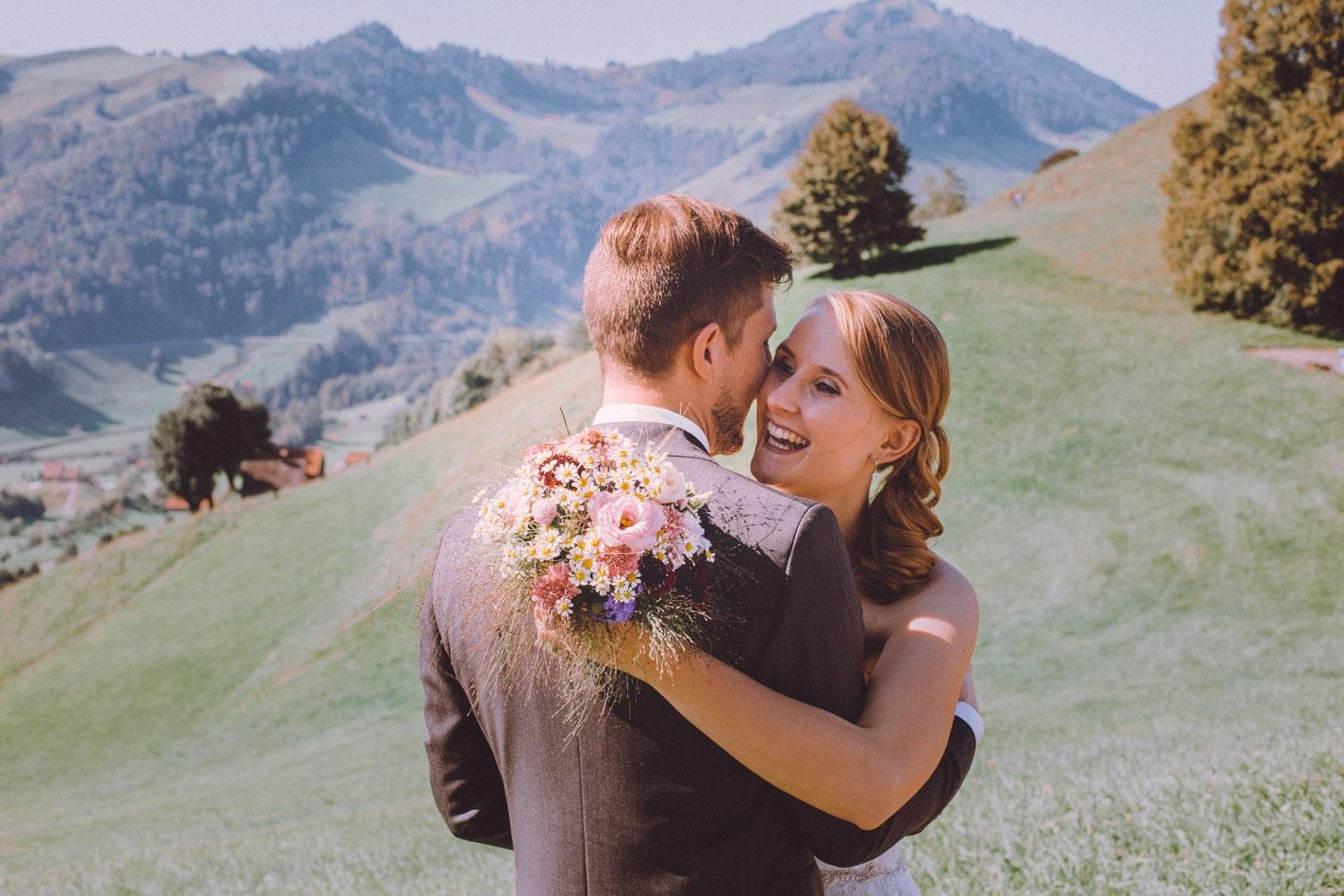 Hochzeit in Appenzell, Schweiz