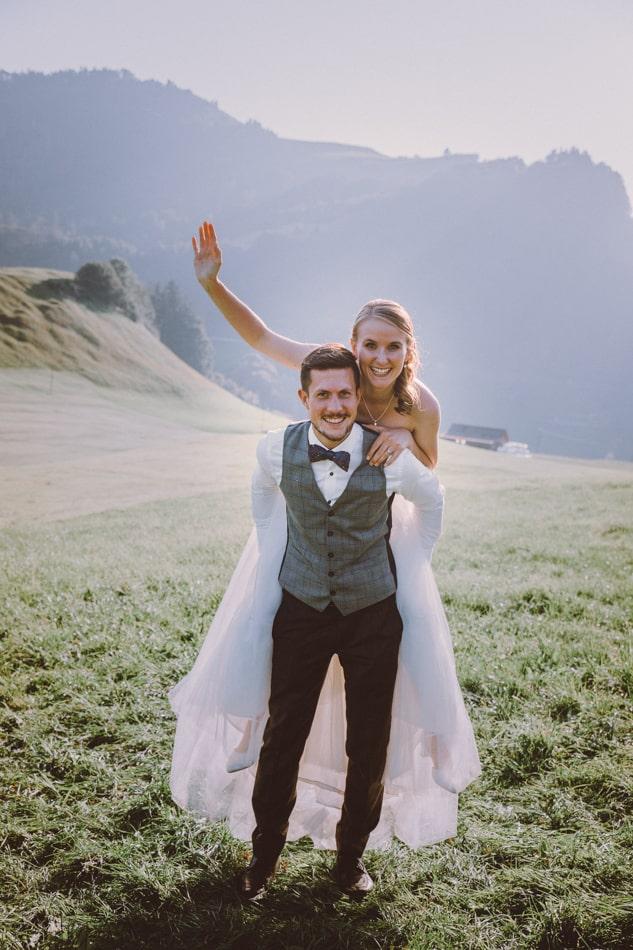Hochzeit in Restaurant Anker Oase in Schlatt, Appenzell