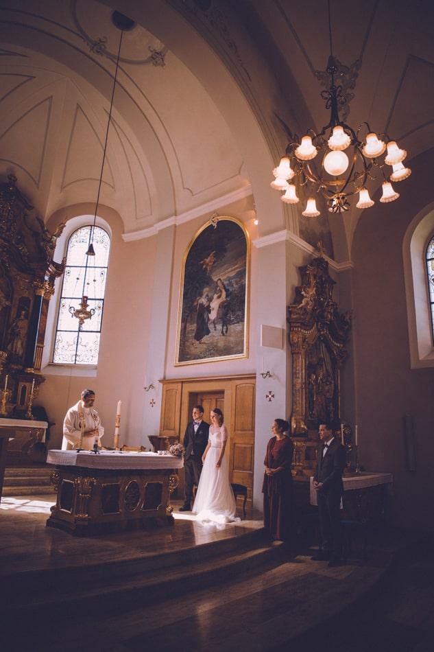 Hochzeit in der Kirche St Josef Schlatt feiern