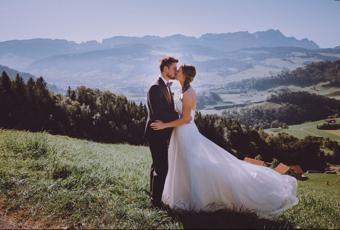 Hochzeitsfotograf Appenzell, Schweiz