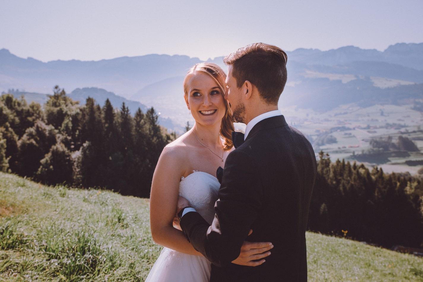 Hochzeitsfotograf in Appenzell, Schweiz