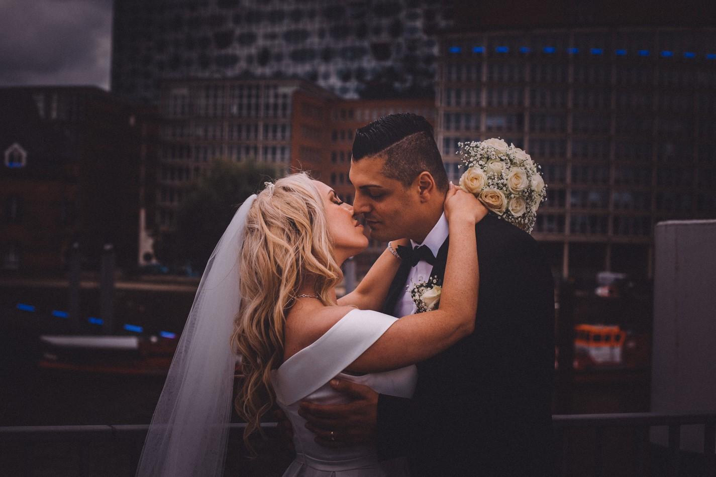 Hochzeitsfotos in Elbphilarmonie