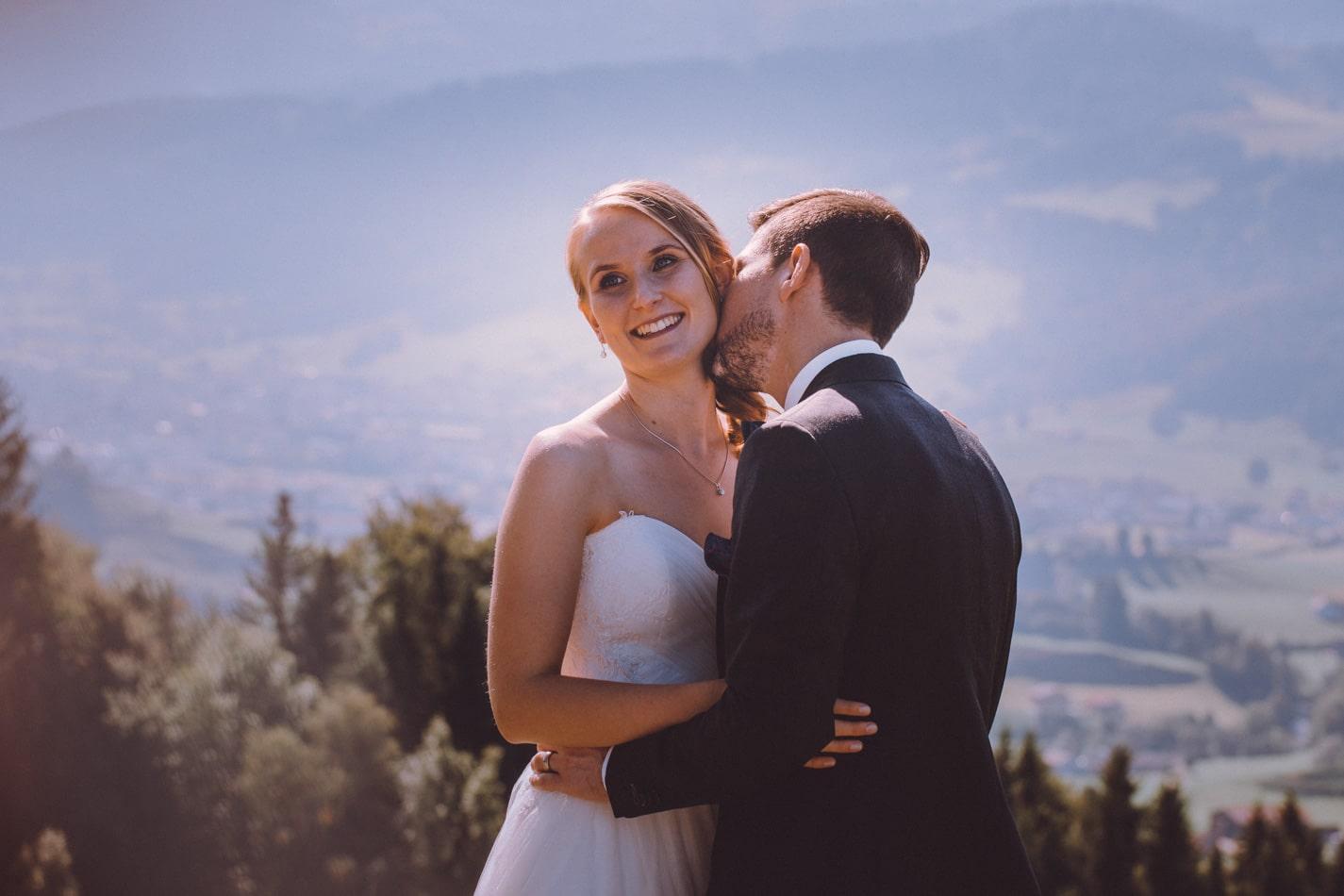 Hochzeitsfotoshooting in Appenzell, Schweiz