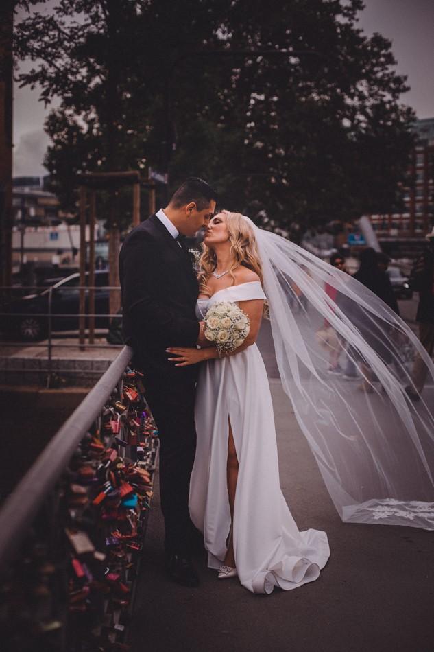 Hochzeitsfotoshooting in Hamburg
