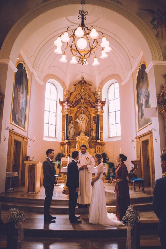 Ihre Hochzeit in der Kirche St Josef Schlatt