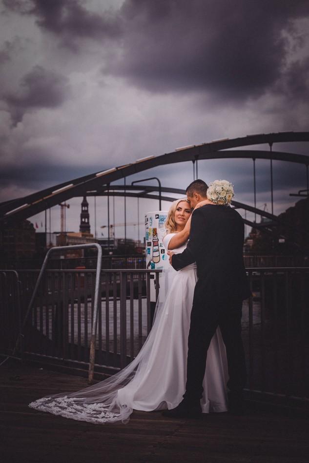 Liebevolle Hochzeitsfotografie in Hamburg