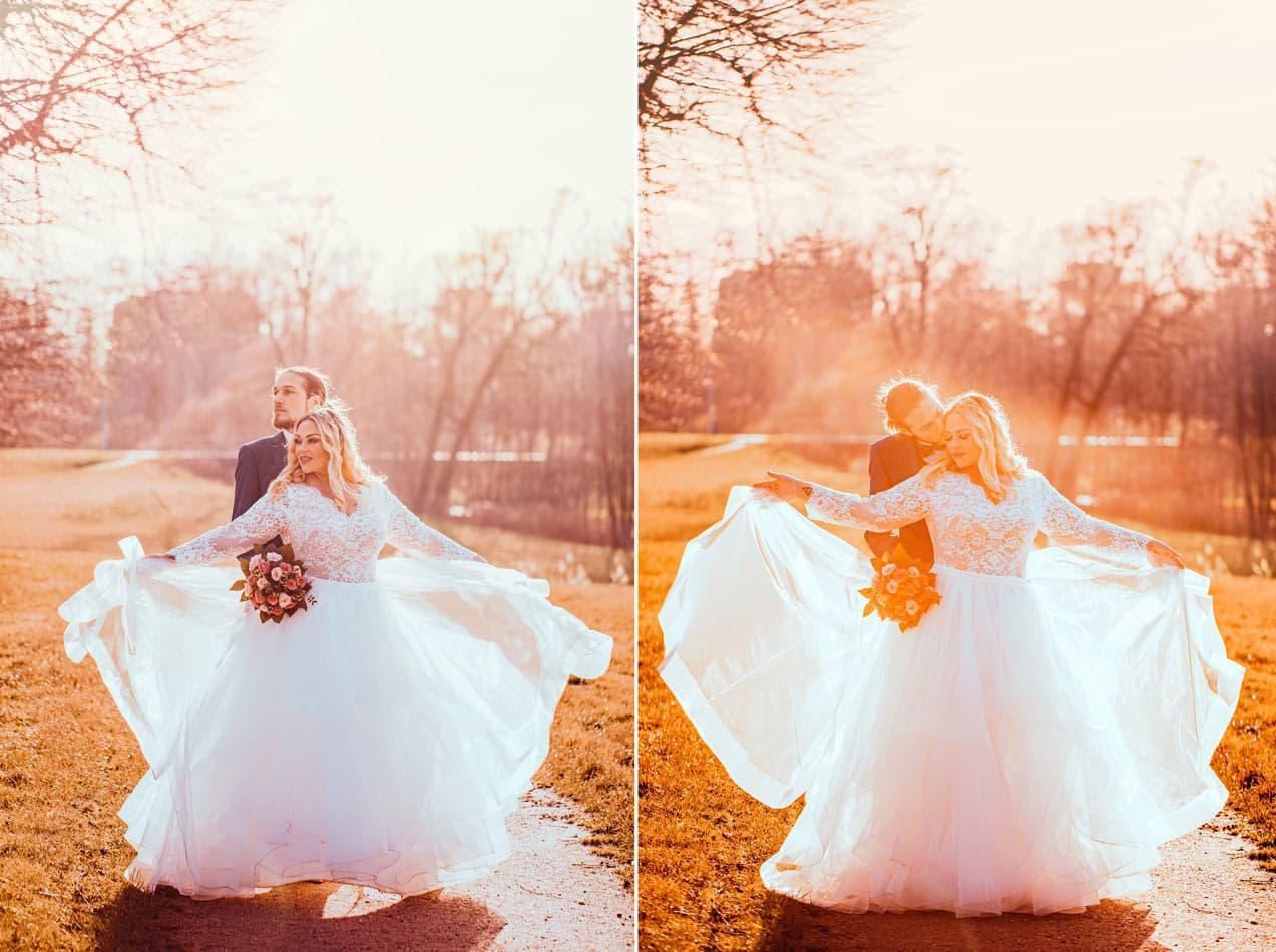 Winter Hochzeit im Schloss Ahrensburg
