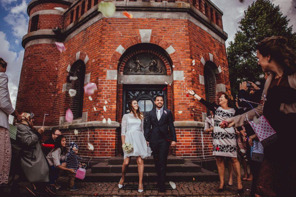 Hochzeit in Leuchtturm Holtenau in Kiel