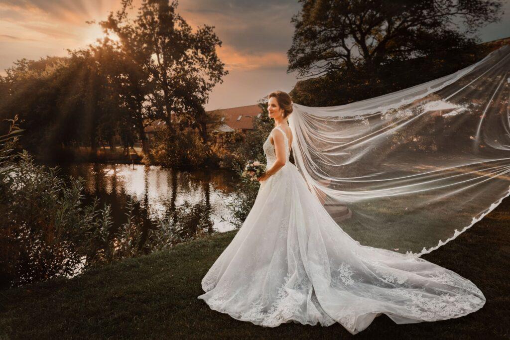 Braut in Gut Basthorst