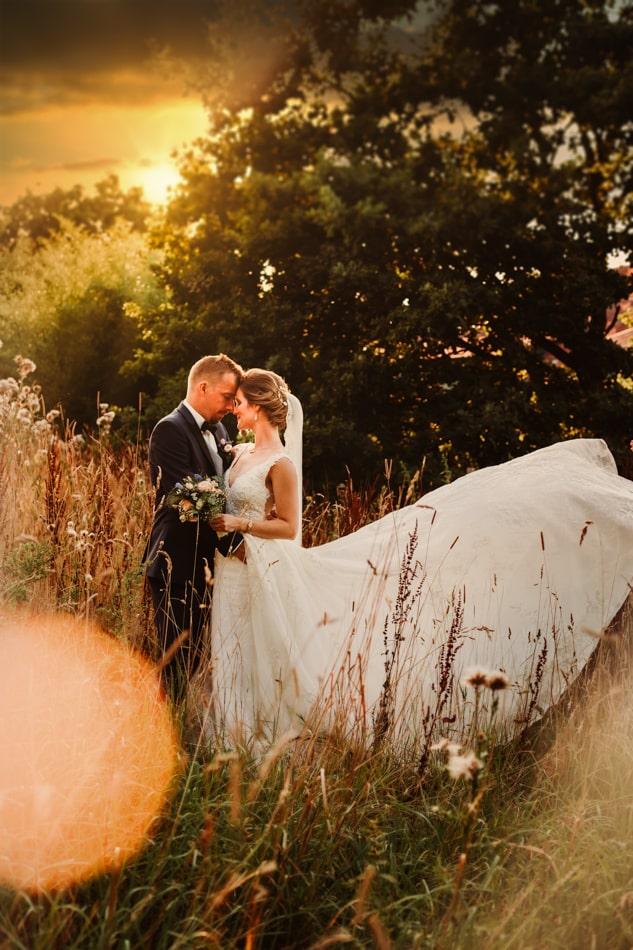 Braut und Bräutigam in Gut Basthorst