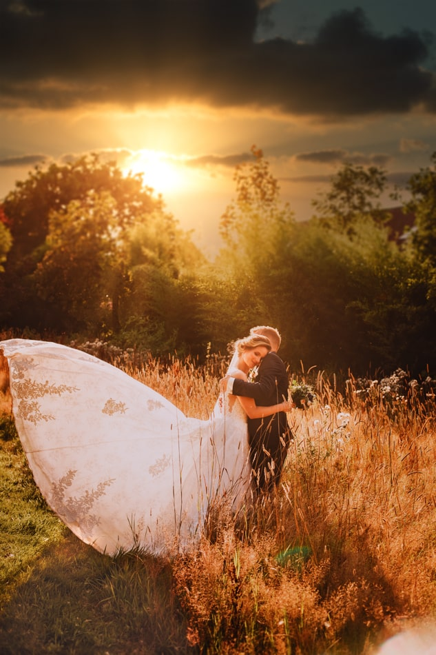 Hochzeitsfotoshooting in Gut Basthorst