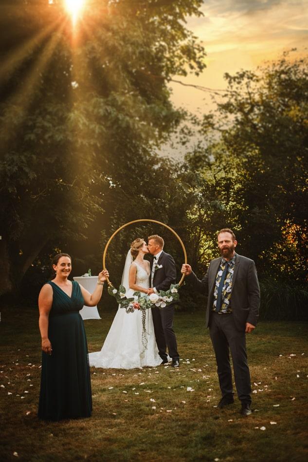 Hochzeitsgäste in Gut Basthorst