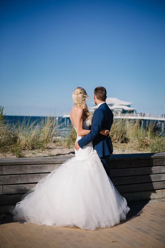 Ästetische Hochzeit im Wolkenlos am Timmendorfer Strand
