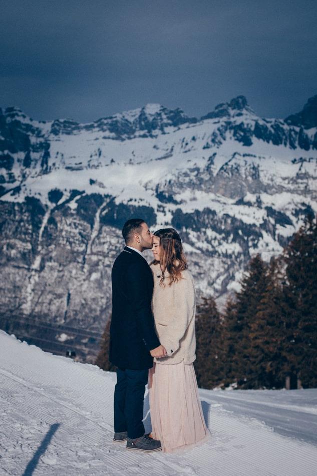 After Wedding Shooting in den Bergen