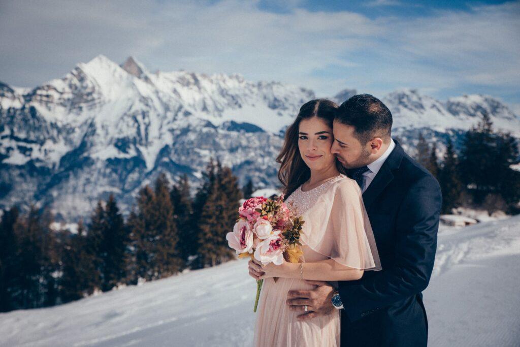 Berghochzeit in der Schweiz