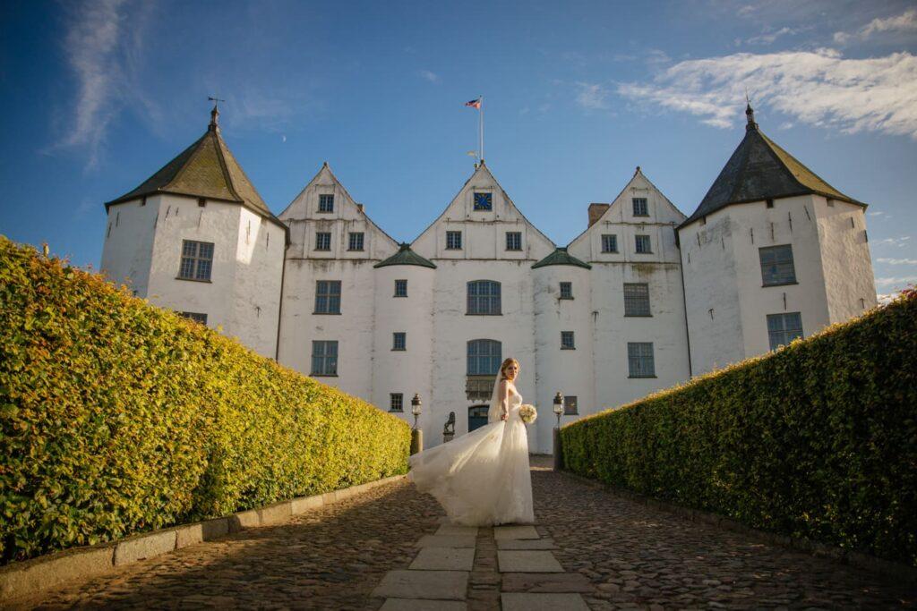 Braut Schloss Glücksburg