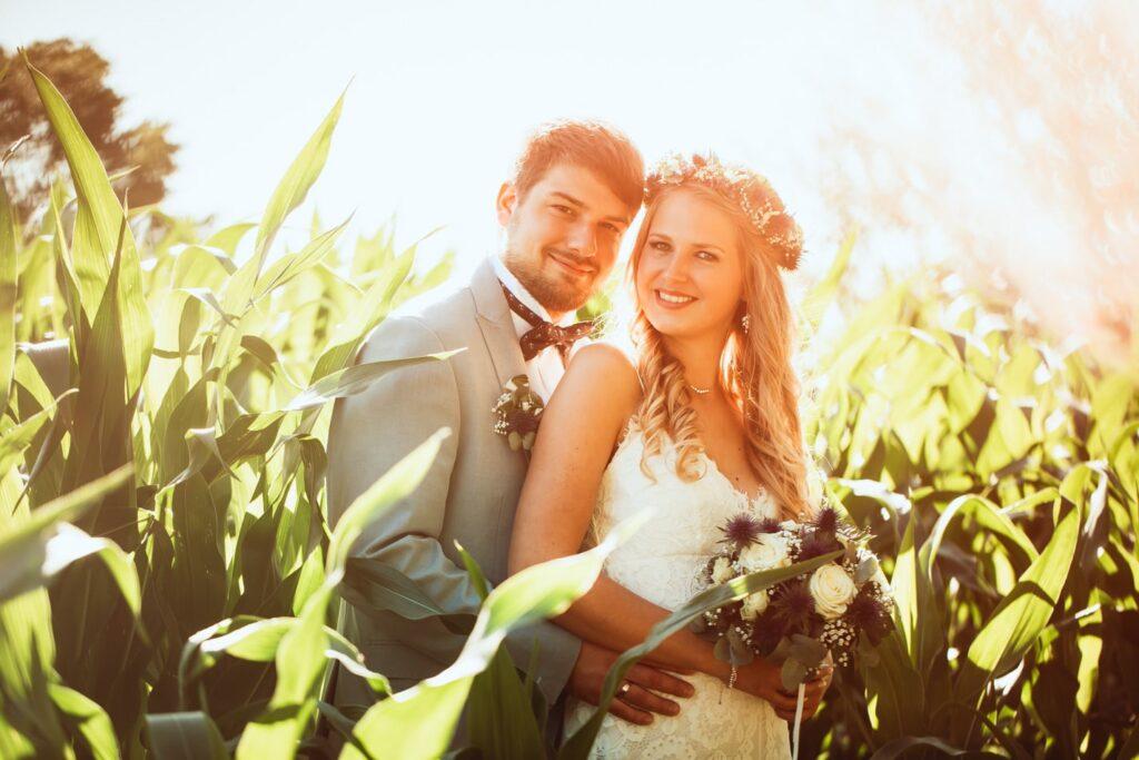 Braut und Bräutigam auf Fehmarn