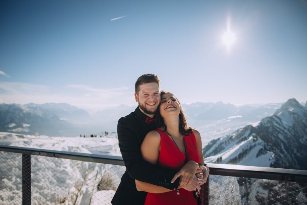 Elopement Fotoshooting in der Schweiz