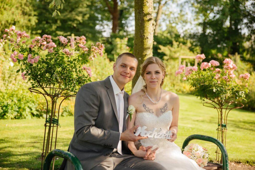 Hochzeit Fotografie Schloss Glücksburg
