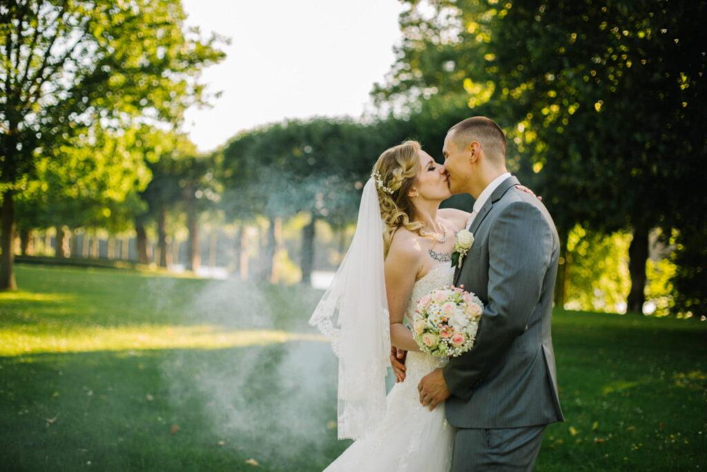 Hochzeit Ideen mit Rauch