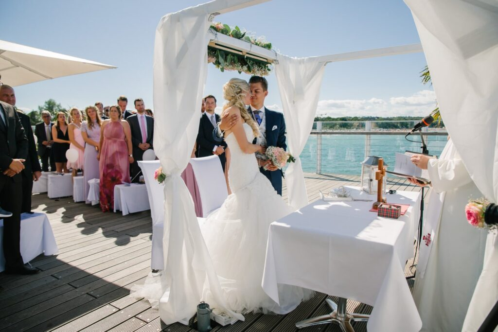 Hochzeit im Wolkenlos am Timmendorfer Strand
