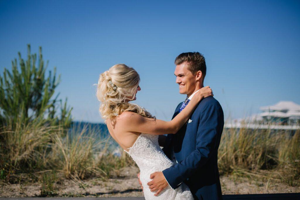 Hochzeitsbilder im Wolkenlos am Timmendorfer Strand