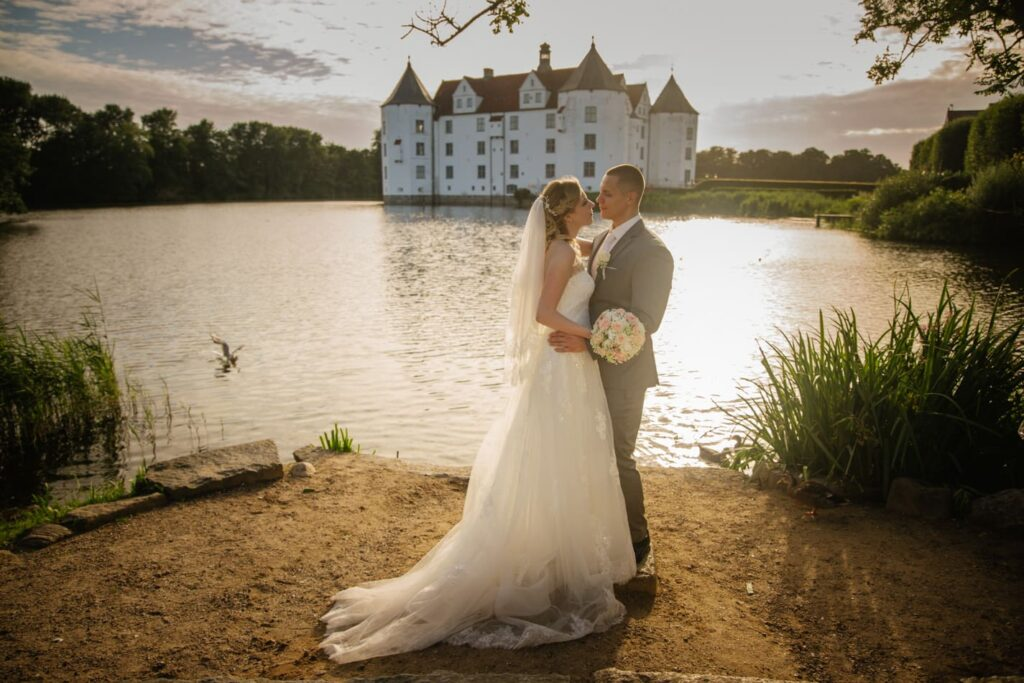 Hochzeitsfotografie Schloss Glücksburg