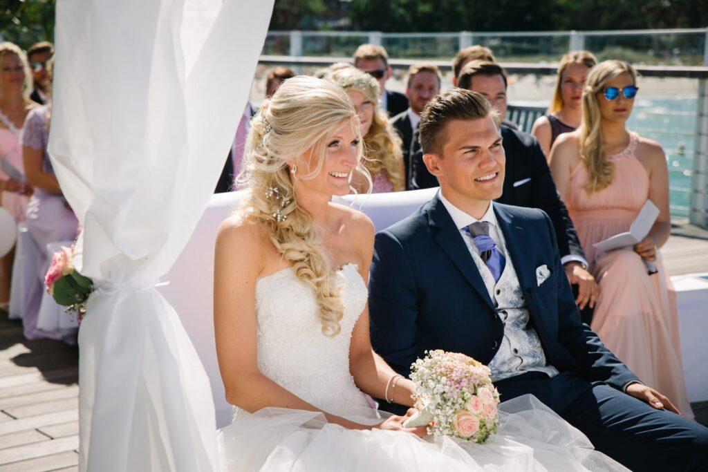 Hochzeitsfotografie im Wolkenlos am Timmendorfer Strand