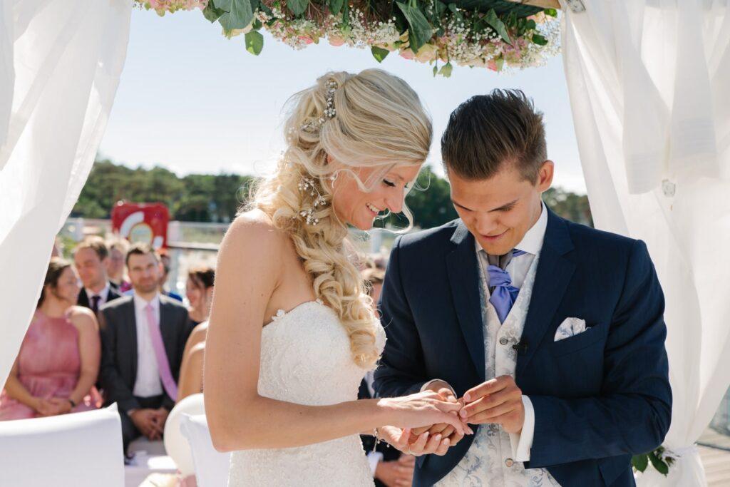 Hochzeitsfotografie im Wolkenlos in Lübeck