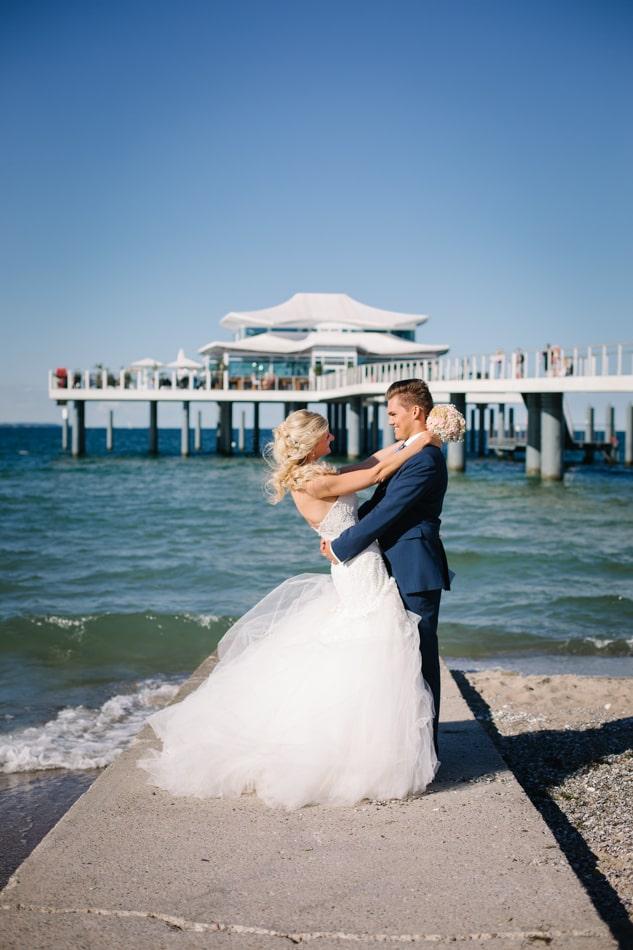 Hochzeitsfotos am Timmendorfer Strand