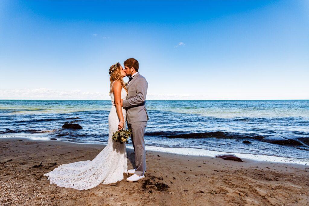 Hochzeitsfotos auf Fehmarn