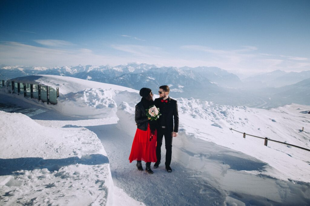 Hochzeitsfotos in St Gallen