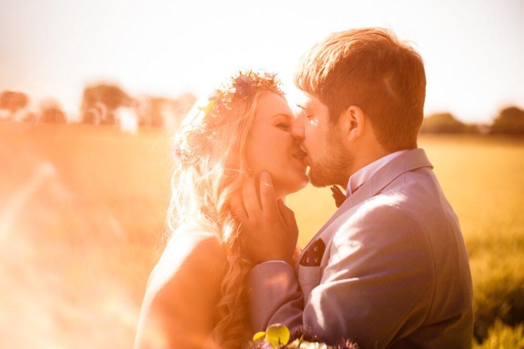 Hochzeitsfotoshooting auf Fehmarn