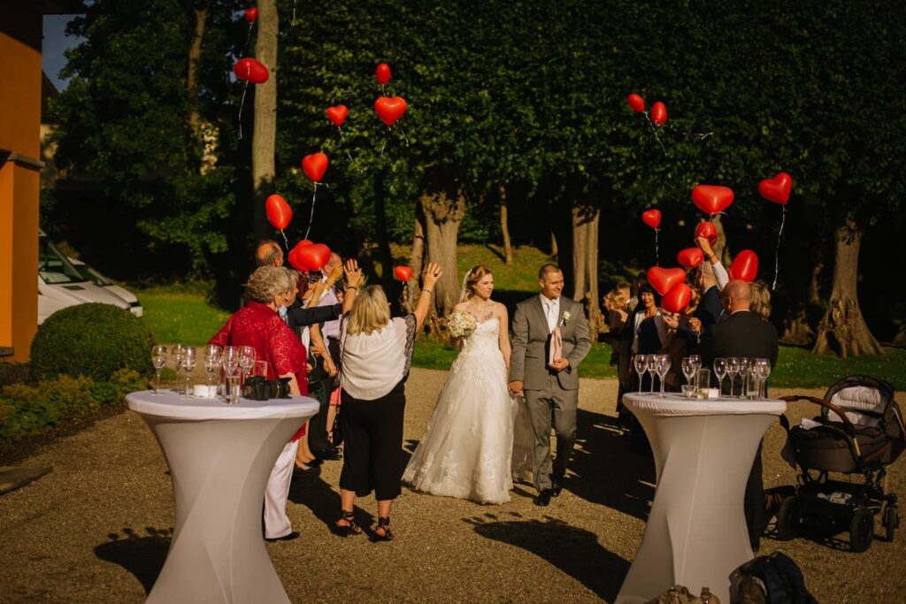 Hochzeitsgesellschaft Schloss Glücksburg