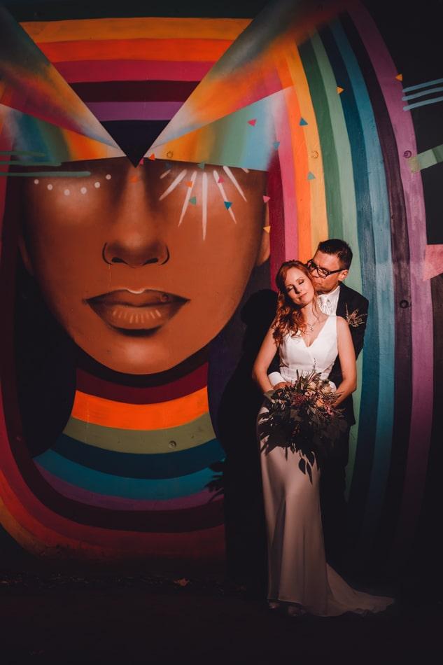 Hochzeitsreportage im Hamburger Gaengerviertel