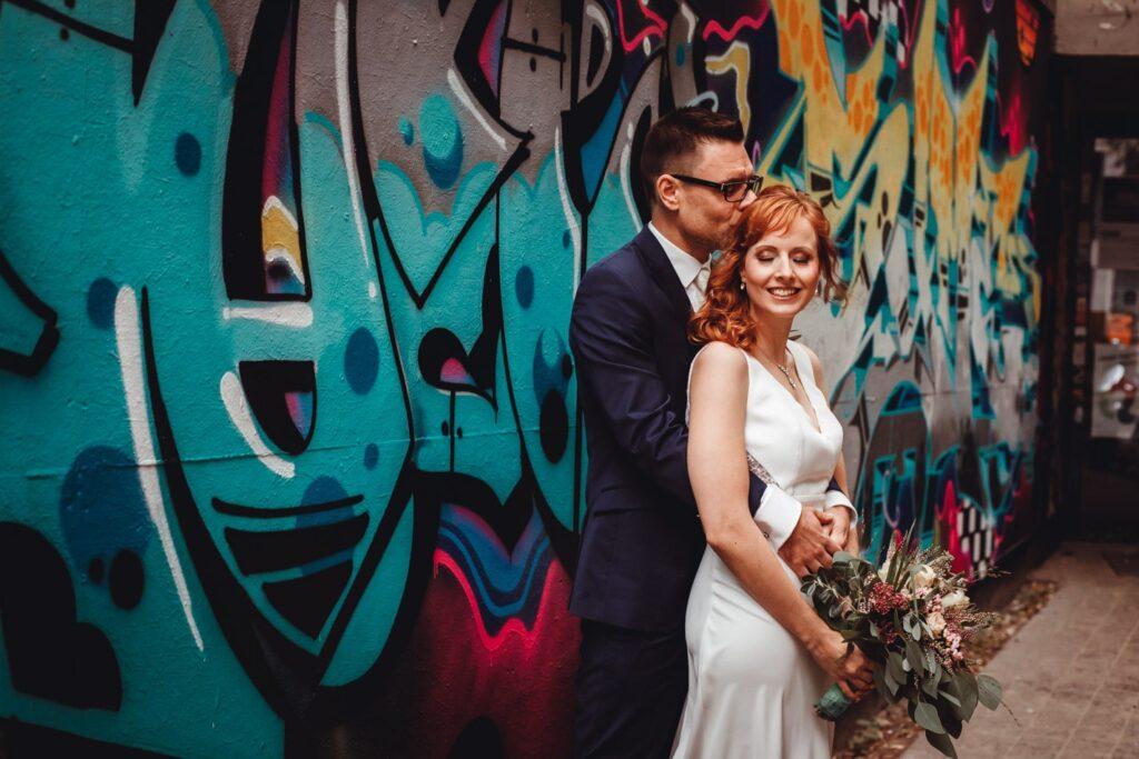 Hochzeitsreportage in Gaengerviertel in Hamburg