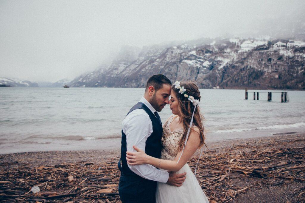 Hochzeitsshooting in den Bergen