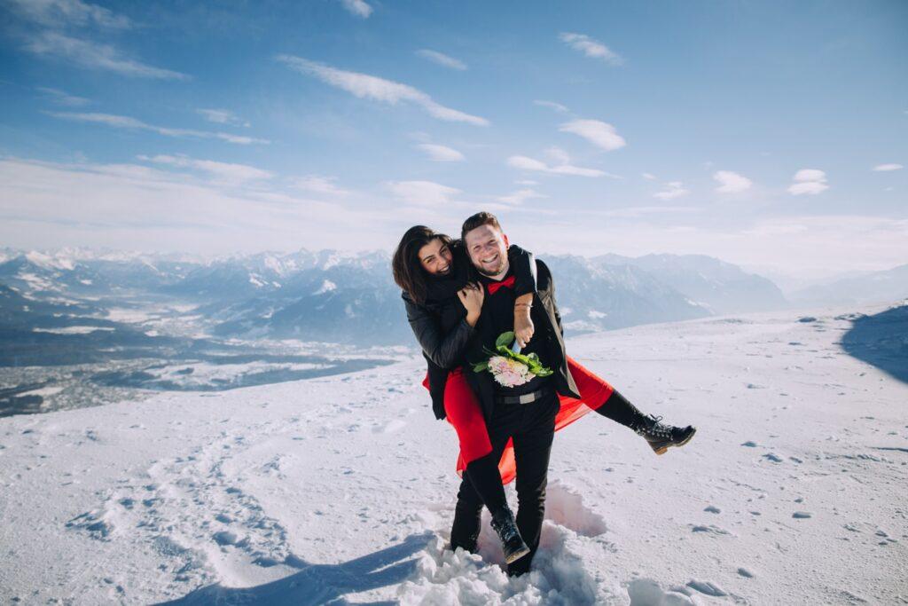 Paar Fotoshooting in der Schweiz