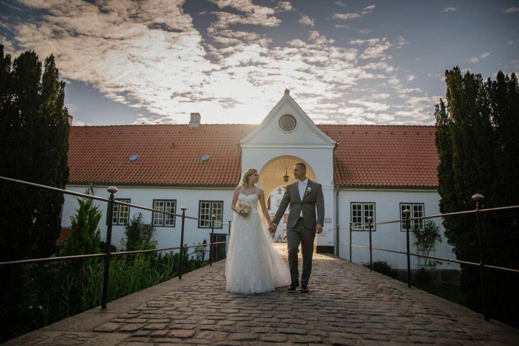 Romantische Hochzeit Schloss Glücksburg