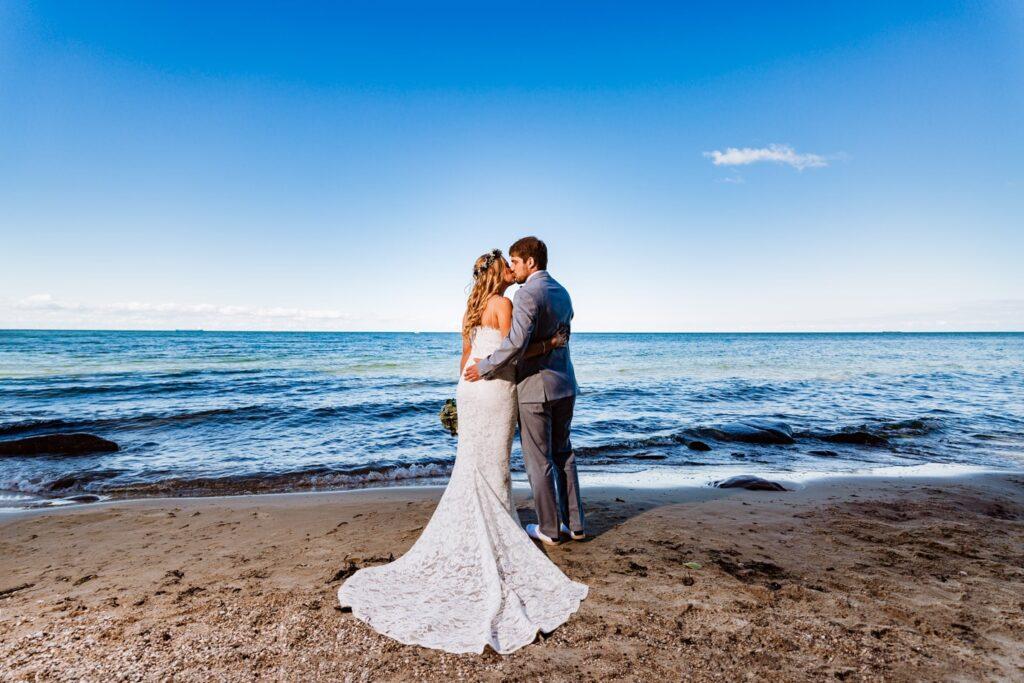 Romantische Hochzeitsfotos Fehmarn