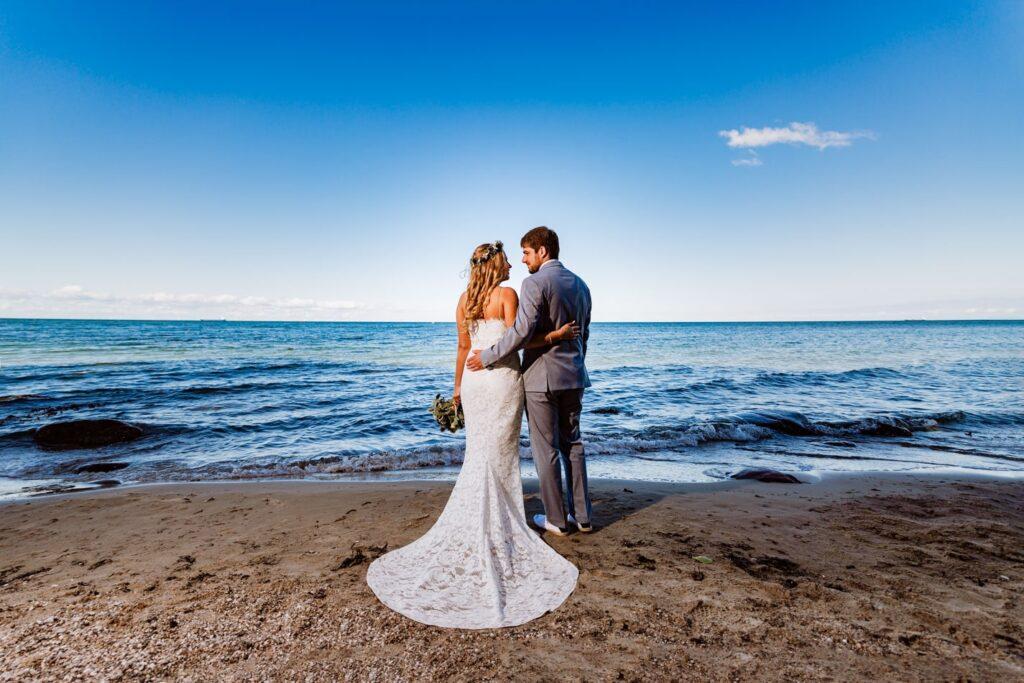 Romantische Hochzeitsfotos auf Fehmarn